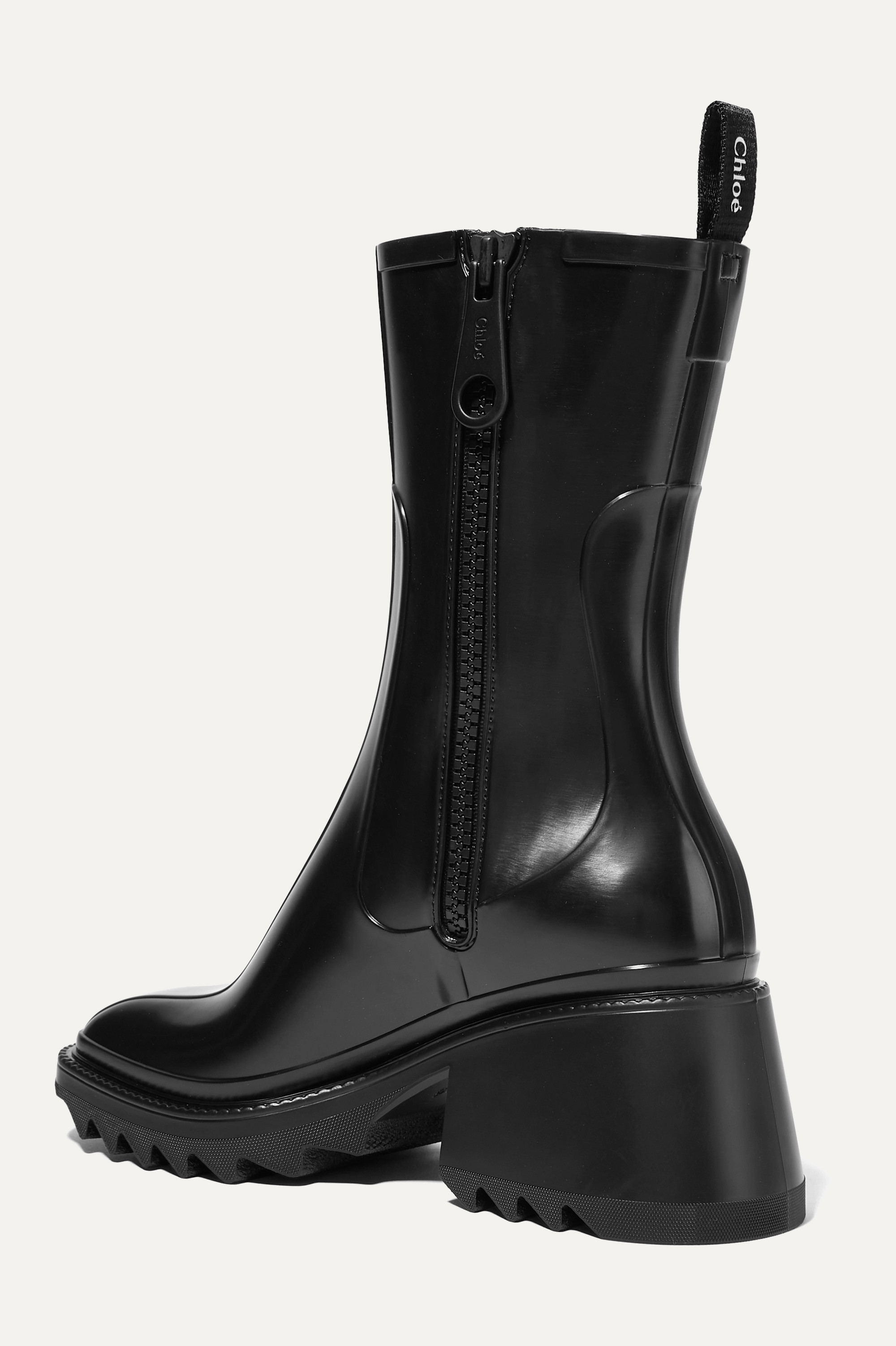 CHLOÉ Betty rubber boots