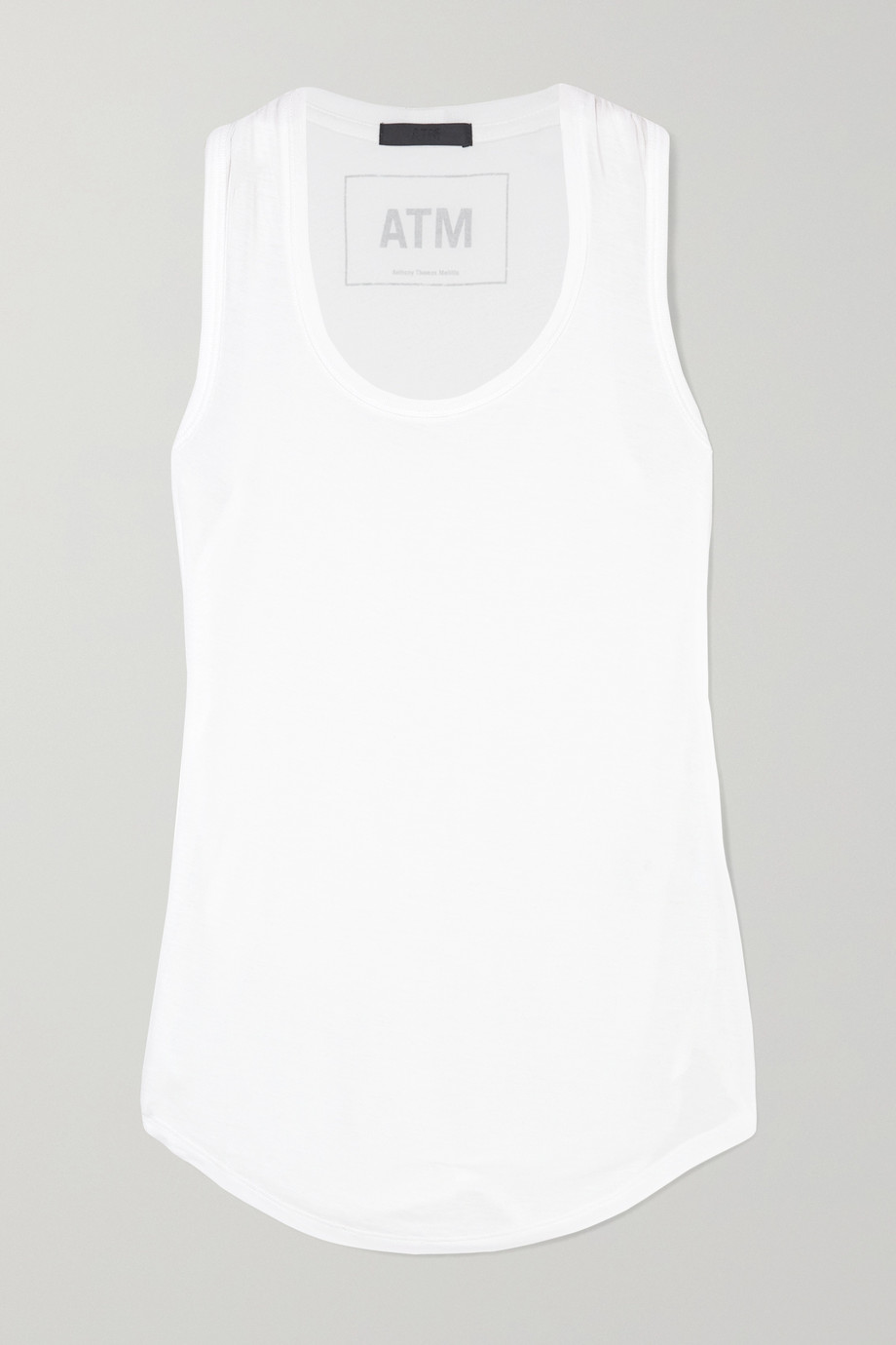 ATM ANTHONY THOMAS MELILLO Sweetheart modal-jersey tank