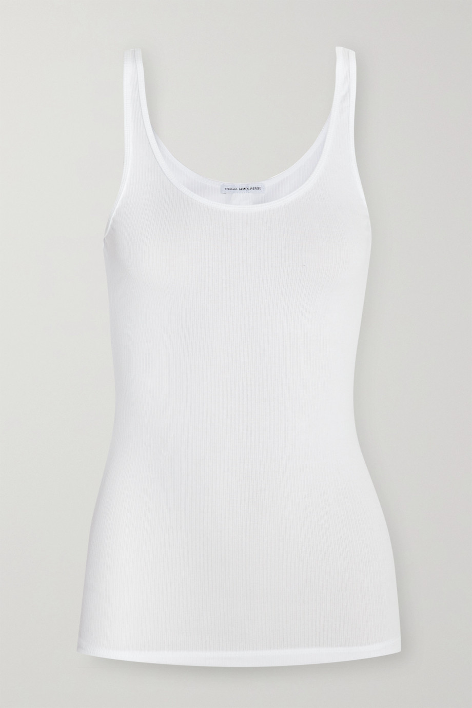 JAMES PERSE The Daily ribbed stretch-cotton tank