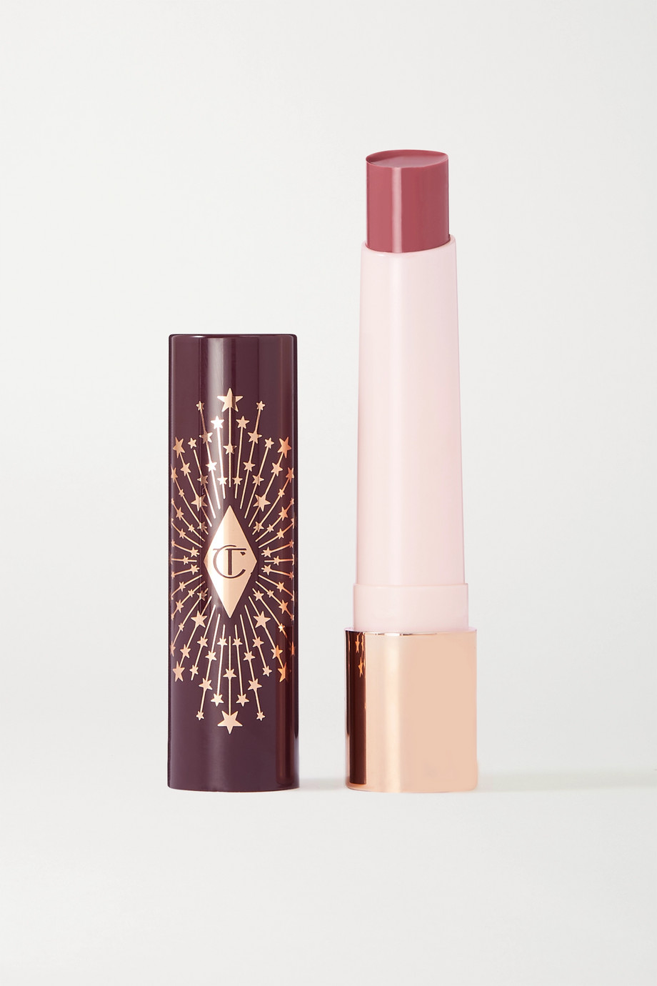 CHARLOTTE TILBURY Hyaluronic Happikiss Lipstick Balm - Pillow Talk