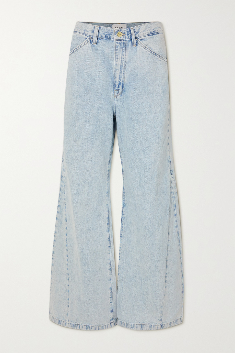 FRAME Le Baggy high-rise wide-leg jeans